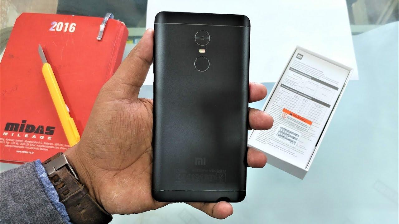 Redmi Note 4 Unboxing: Redmi Note 4 Black Looks Better Than IPhone 7 Matt Black
