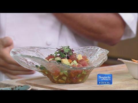 ¡Del mar a tu mesa! Aprende a preparar un 'Ceviche Nikkei'