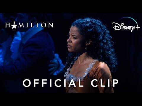 """""""Satisfied"""" Clip   Hamilton   Disney+"""