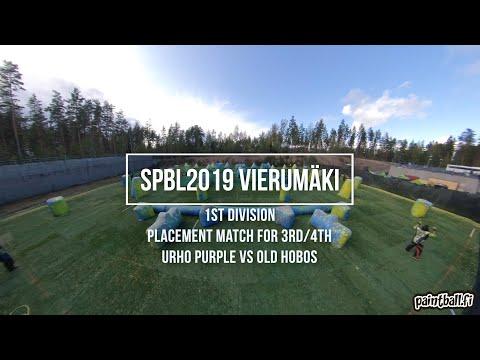 Urho Purple vs Old Hobos - SPBL2019 Vierumäki