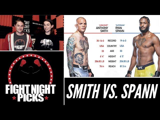 UFC Fight Night: Anthony Smith vs. Ryan Spann Prediction