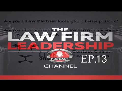 The Fastest Growing & Largest US Cloud Law Firm  | Ep 13 James Fisher of FisherBroyles