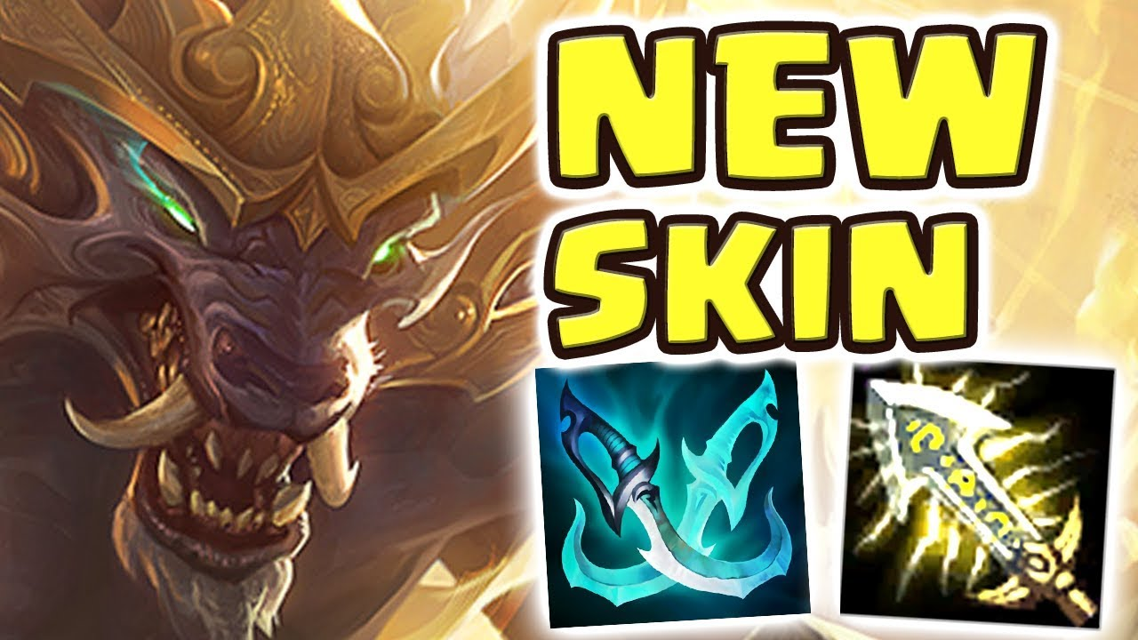 NEW LUNAR GUARDIAN WARWICK JUNGLE SPOTLIGHT | NEVER BEFORE SEEN BUILD | THE SKIN GIVES SUPERPOWERS?!