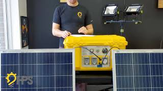 Batt Pack Energy Solar Panel Wiring