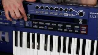 OFFICIAL Novation UltraNova Synth Basics and setup