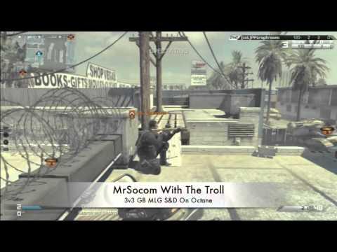 MrSocom Trolling In A 3v3 GB