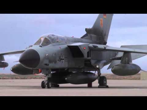 German Tornado Fighter Arrive at Mountain Home Air Force Base, Idaho!