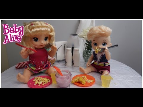 BABY ALIVES Go To The Restaurant baby alive outing baby alive videos
