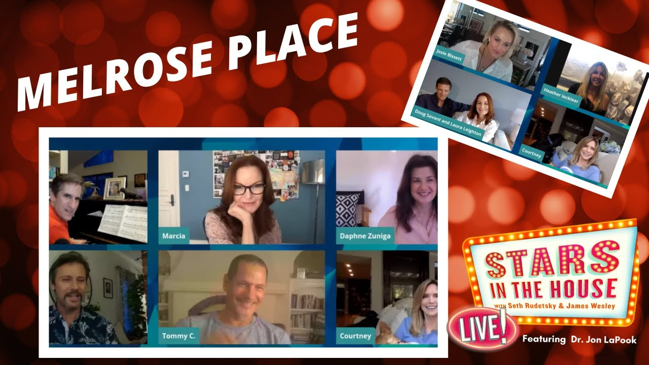 Download Melrose Place Cast Reunion | Stars In The House, Tuesday, 4/28 at 8PM ET