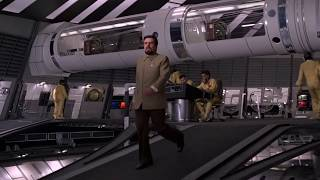 MOONRAKER   Attack on Hugo Drax's space station