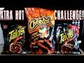 Flamin Hot Cheetos and Xtra Hot Takis Challenge SOLO FreakEating vs the World 85
