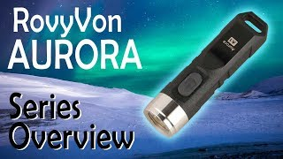 RovyVon Aurora Keychain Flashlights