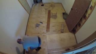 видео Замена и ремонт пола в хрущевке: способы реставрации старого основания