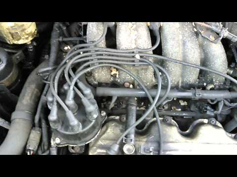 Mercury Villager 1998 spark plugs and wires howto - YouTube on
