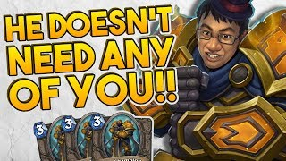 HE DOESN'T NEED ANY OF YOU!! | The Boomsday Project | Hearthstone Arena