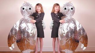 [JOUET] Super Oeuf Bonhomme plein de surprises - Unboxing giant full silver egg thumbnail