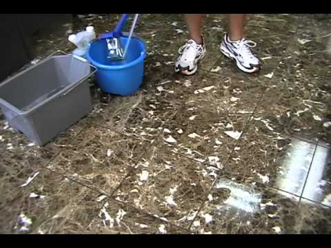 Marble Floor Cleaning Restoration YouTube - How to clean marble floors without streaks