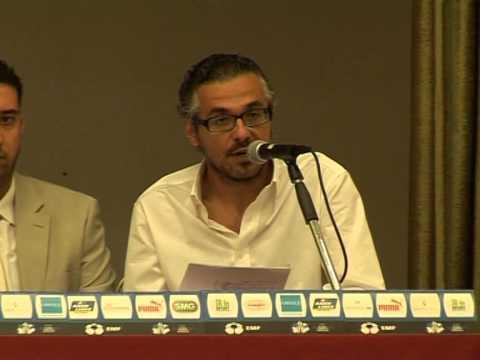 Press Conference miniEURO 2013, GREECE