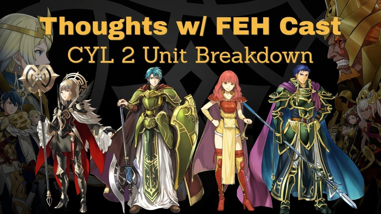 Thoughts W Feh Cast Cyl 2 Unit Breakdown