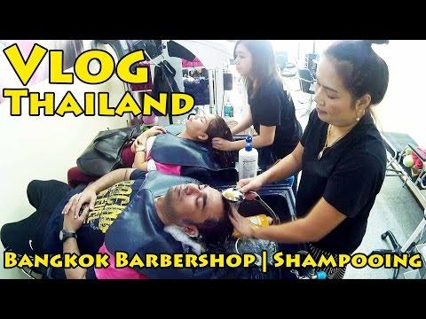 VLOG Thailand: Bangkok Barbershop | Shampooing