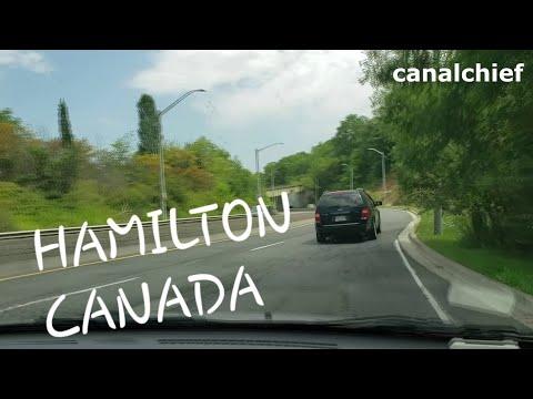 HAMILTON-CANADA TOUR- DRIVING DOWN FROM JURAVINSKI HOSPITAL