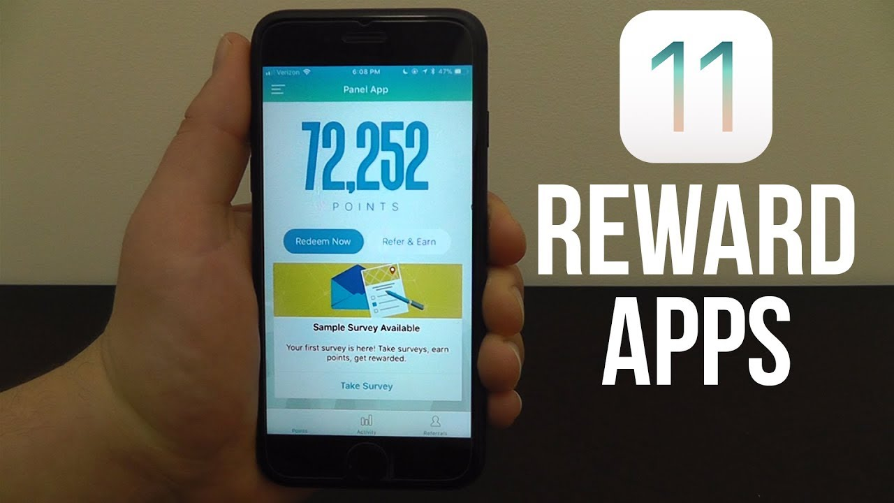 Best Reward Apps for iOS 11 - Earn Gift Cards & Cash Rewards with ...