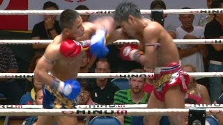 Muay Thai - Muangthai vs Yodlekpet (เมืองไทย vs ยอดเหล็กเพชร), Lumpini Stadium, Bangkok, 2.9.16