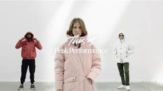 Peak Performance Outerwear FW18: Driven by Perfection