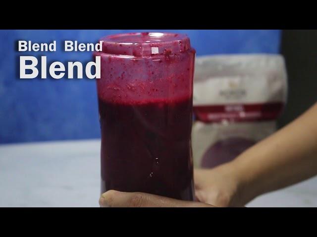 Kokos Natural's Berry Smoothie Recipe