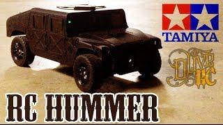 RC HUMMER H1 - TAMIYA TA02 chassis  [PART 1/2]