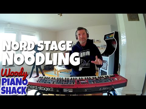 Nord Stage 2 Demo & Review - Noodling on some synth presets