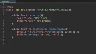 Tutoriel PHP - Tests unitaires, PHPUnit