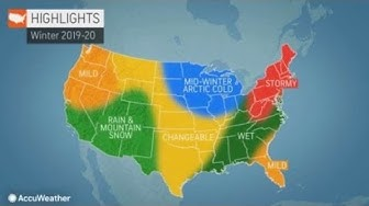 Accuweather's Winter forecast 2019-2020