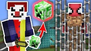 ZENGİN VS FAKİR ÖRÜMCEK ADAM #43 - Katil Palyaço Fakir'i Yakaladı (Minecraft) Video