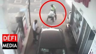 Rivière-des-Anguilles : un policier filmé en train d'agresser un infirme