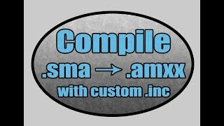 compiling sma to amxx