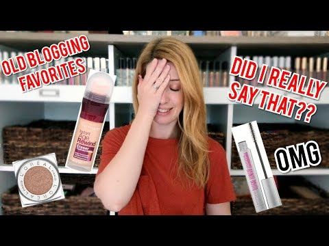 REVISITING OLD BUDGET BEAUTY BLOG FAVORITES | Flashback Friday