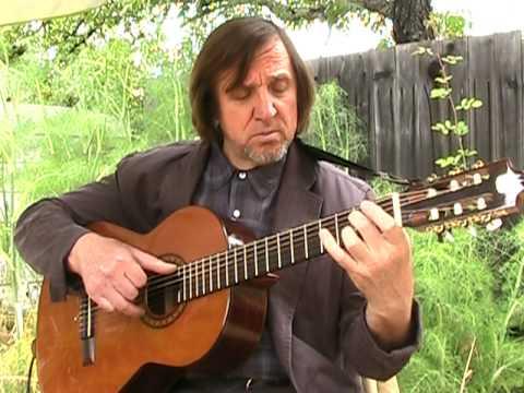 Ukrainian Folk Song. Guitar arpeggio.