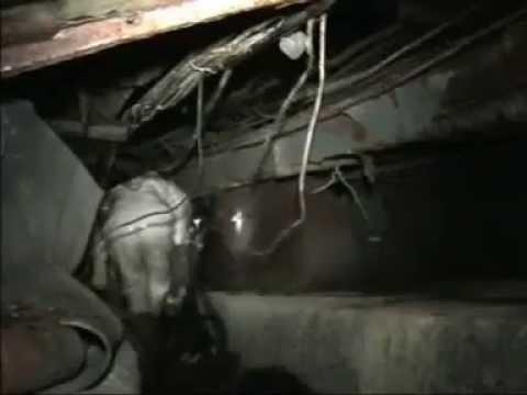 Inspekcja sarkofagu w Czarnobylu od środka