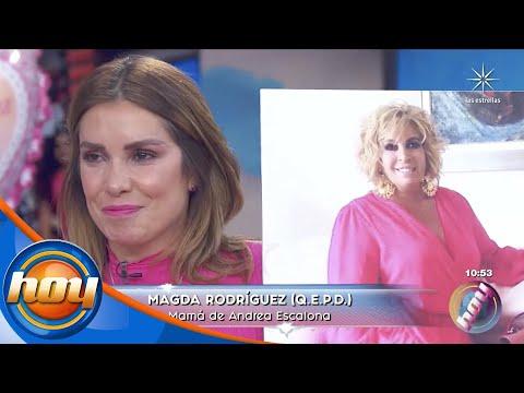 Por el placer de vivir: Andrea Escalona llora al recordar a Magda Rodríguez   Programa Hoy