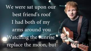 Ed Sheeran how would you feel | live acoustic, with lyrics (HD)