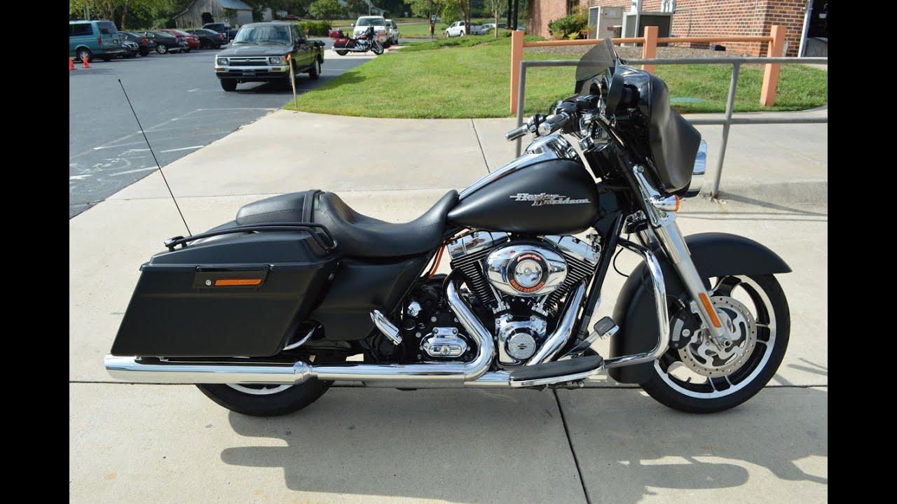 SOLD! 2012 Harley-Davidson® FLHX - Street Glide® Black Denim 4817 ...