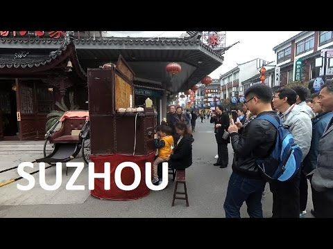 Walking in Suzhou on April 4, 2017