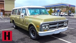 Jon Picks Up 1971 GMC Carry All Tow Rig - New Staff Inspection!?