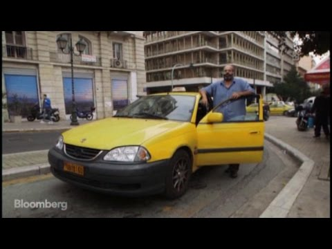 The Political Pulse From an Athenian Taxi