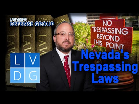 Nevada's Trespassing Laws