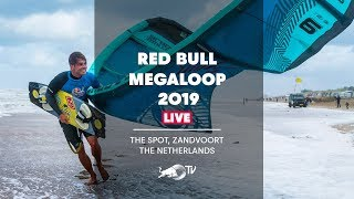 LIVE 16 Kiteboarders Face Extreme Dutch Weather | Red Bull Megaloop
