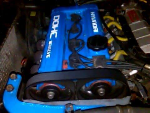 Фото к видео: Работа двигателя 4G61 после переборки Lantra