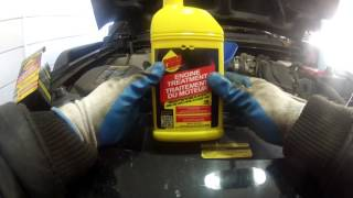 Quick Oil Change and DURA LUBE Engine Treatment Additive