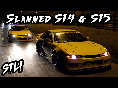 Slammed S14 & S15 SR20 Drive By